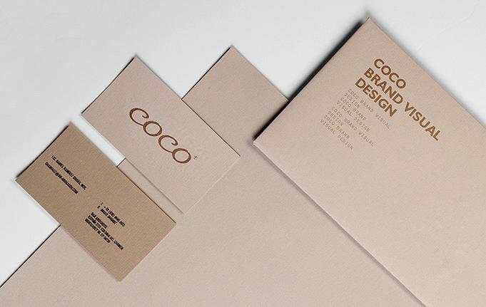 COCO皮具VI设计-红苹果品牌设计