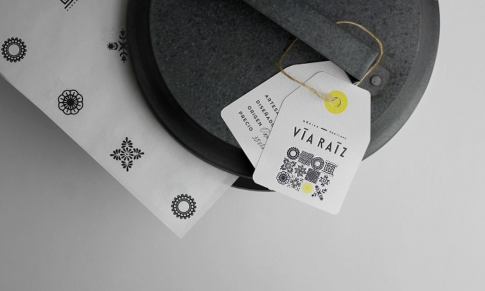 VÍA RAÍZ墨西哥手工艺品牌VI设计