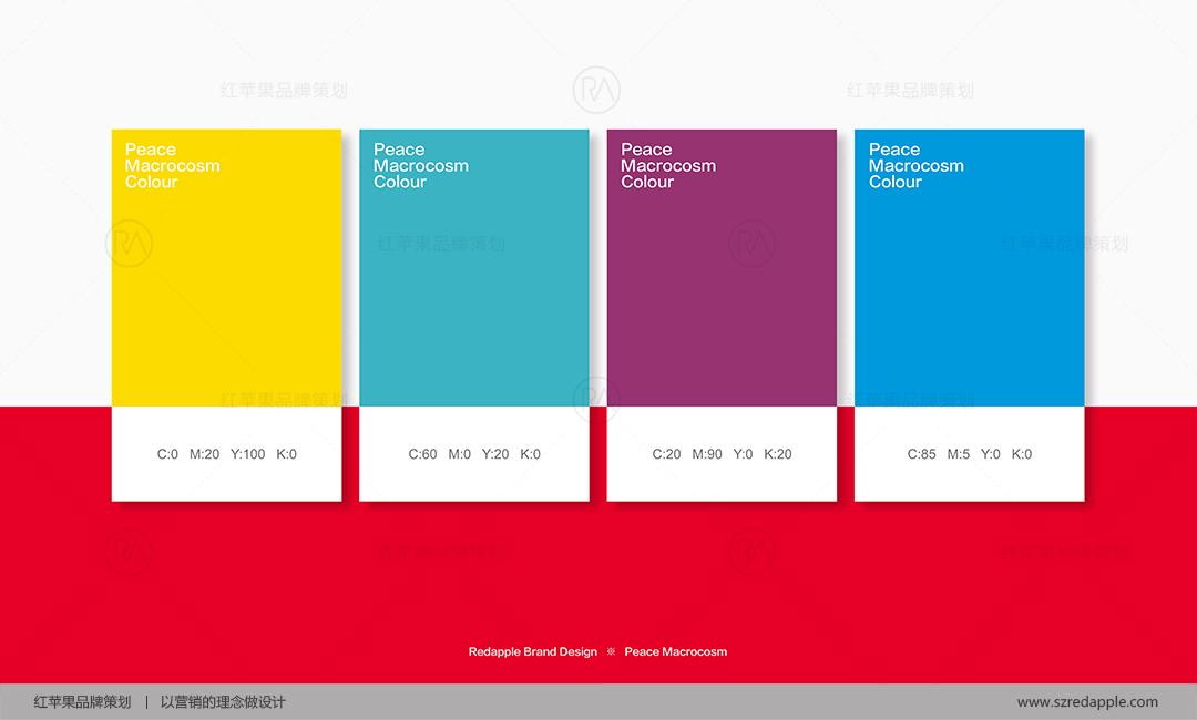 和平大世界家居O2O平台品牌VI设计案例