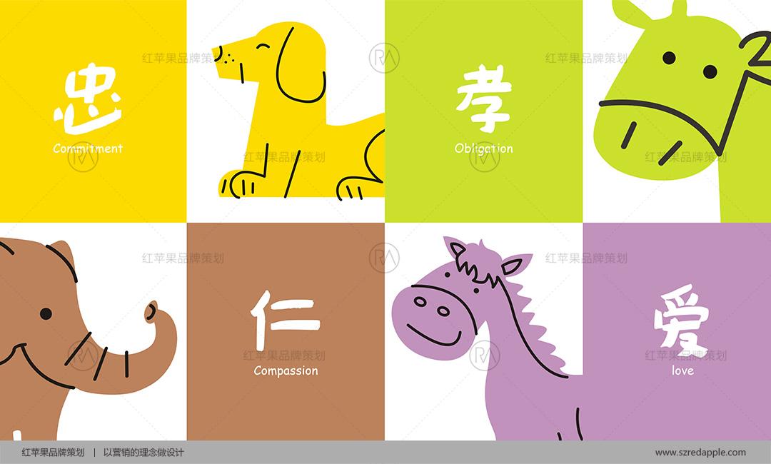 早教中心LOGO、吉祥物、VI设计